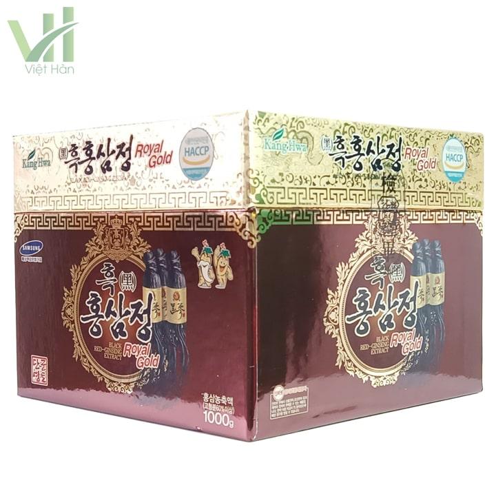 Góc sản phẩm cao hắc sâm Kanghwa Hàn Quốc 1000g