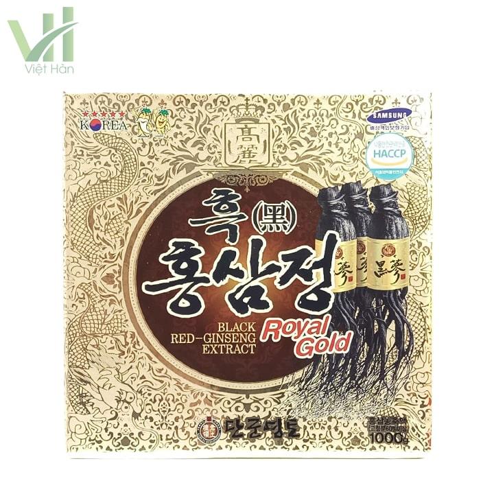 Sản phẩm cao hắc sâm Kanghwa Hàn Quốc 1000g
