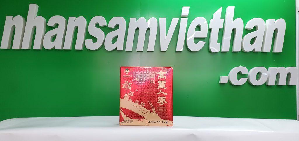 Hình ảnh: Củ bạch sâm khô Hàn Quốc - Túi 300g