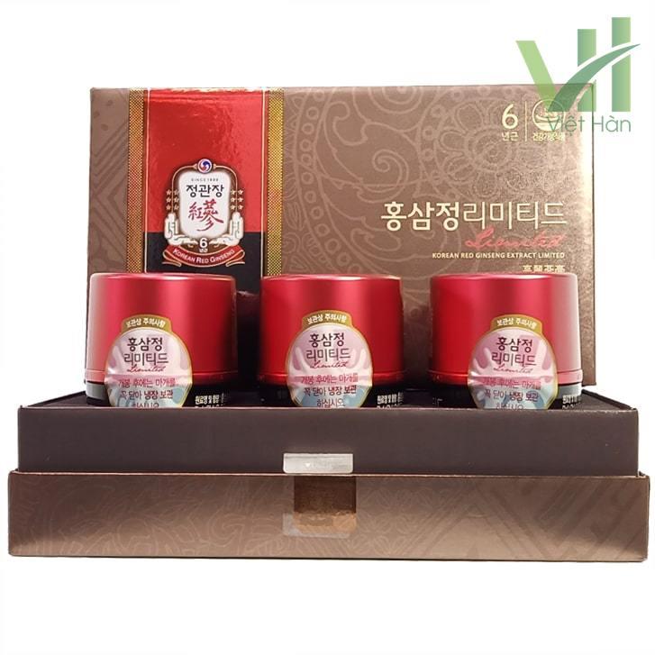 Sản phẩm cao địa sâm Cheong Kwang (KGC) Hàn Quốc