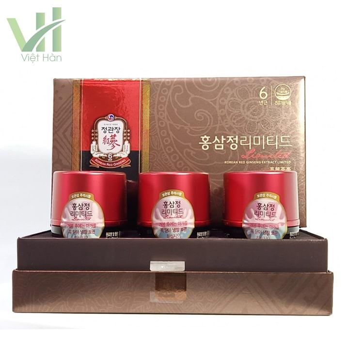 <em>Sản phẩm cao địa sâm Cheong Kwang (KGC) Hàn Quốc</em>