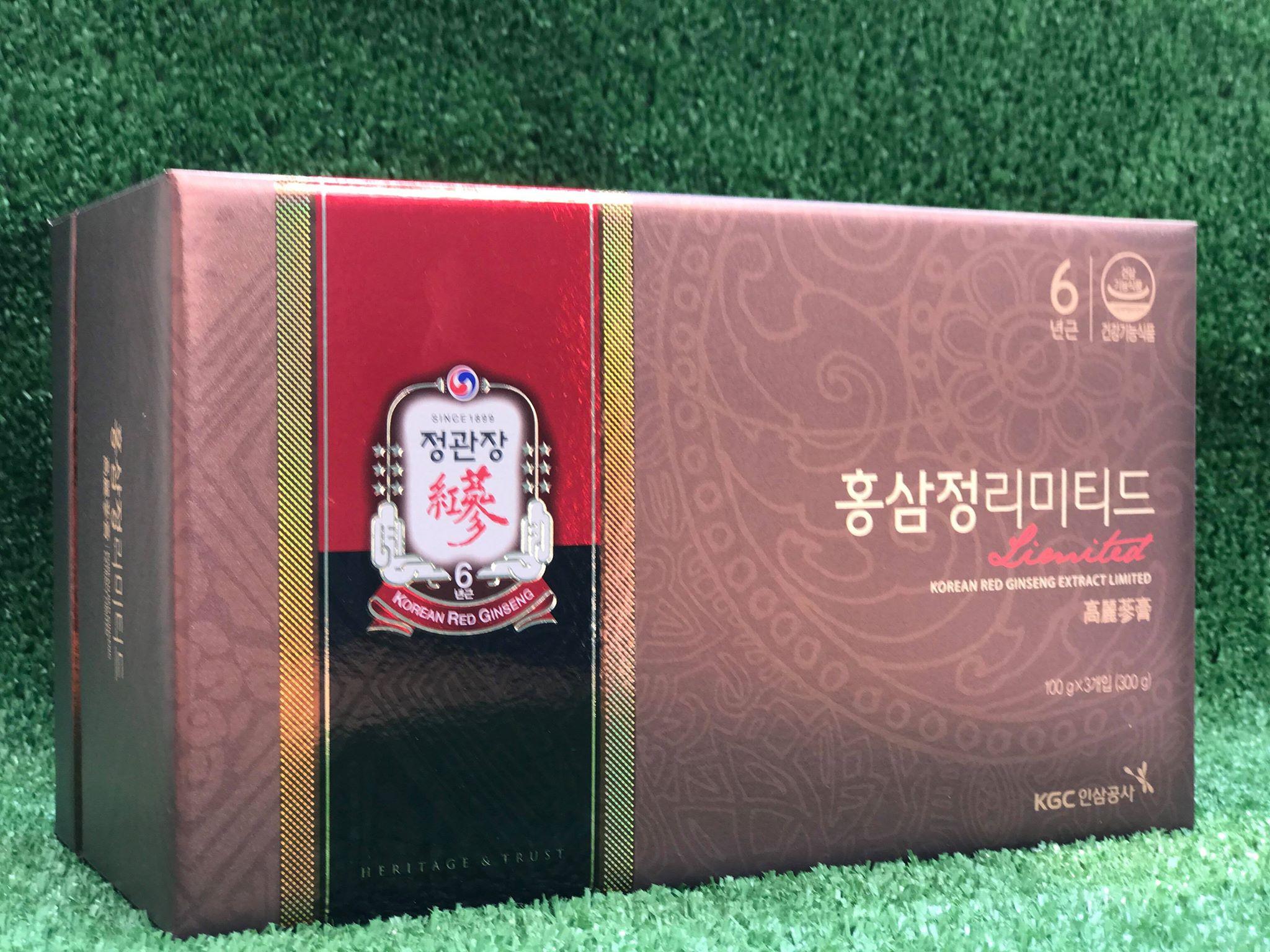 Cao địa sâm Cheong Kwang KGC Hàn Quốc - Sản phẩm tốt nhất hiện nay