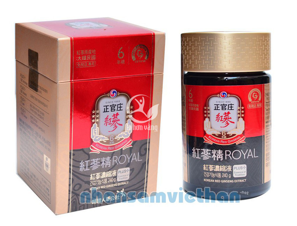 Cao hồng sâm - KGC 240g Royal Plus nội địa