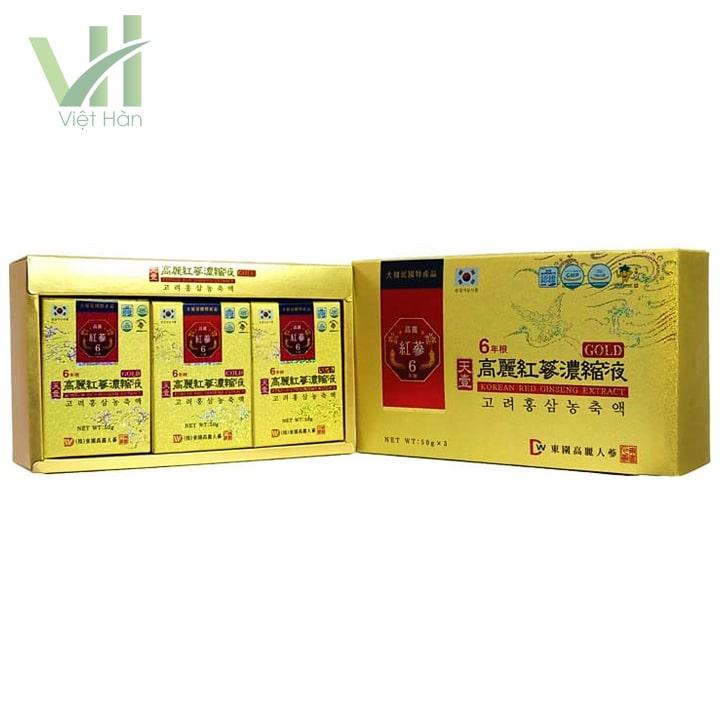 <em>Sản phẩm cao hồng sâm - Dongwon 50g x 3lọ</em>