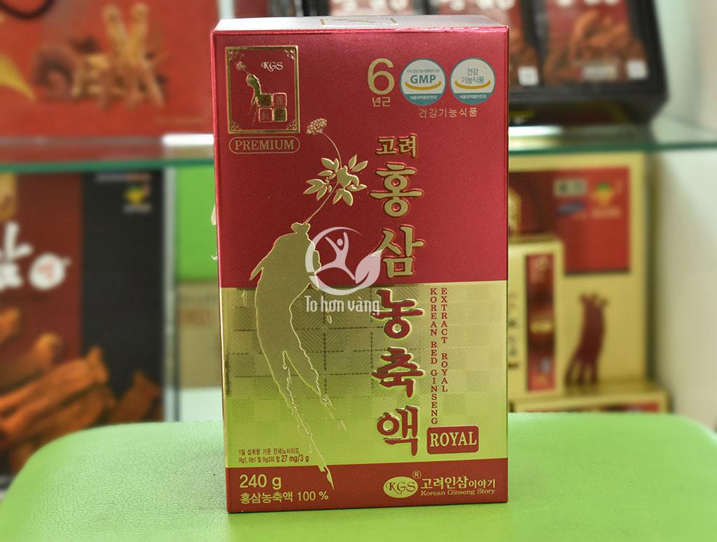 Hình ảnh hộp cao hồng sâm Hàn Quốc KGS
