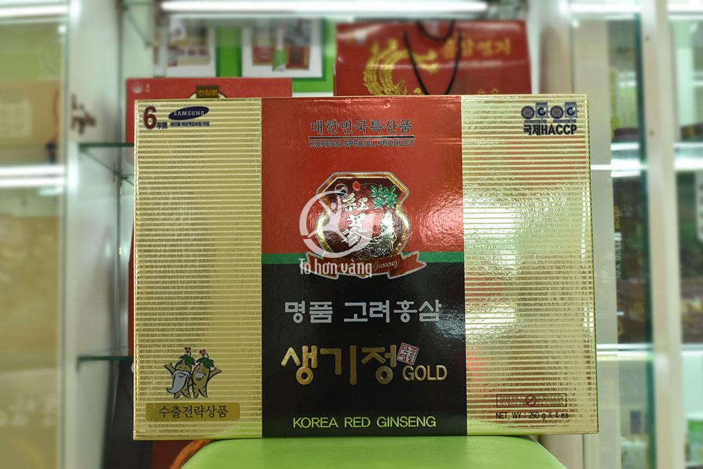 Hình ảnh hộp cao hồng sâm hàn quốc 250 gram