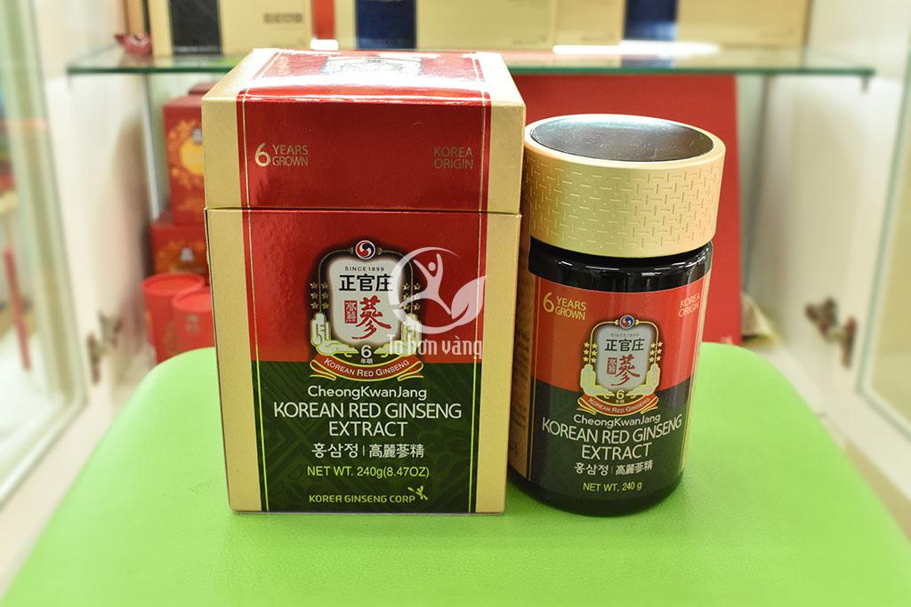 Hình ảnh cao hồng sâm Hàn Quốc 6 năm tuổi 240 gram