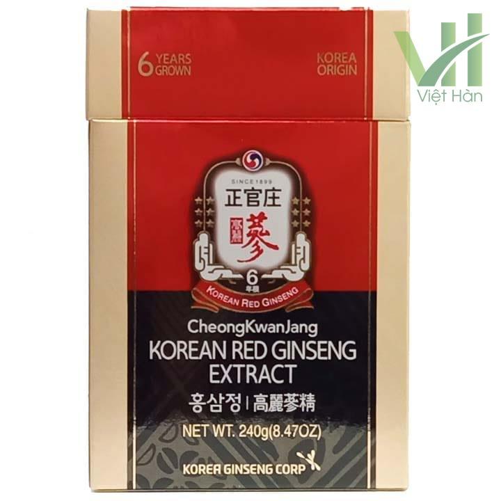 Mặt trước sản phẩm cao hồng sâm Hàn Quốc chính phủ - KGC 240g