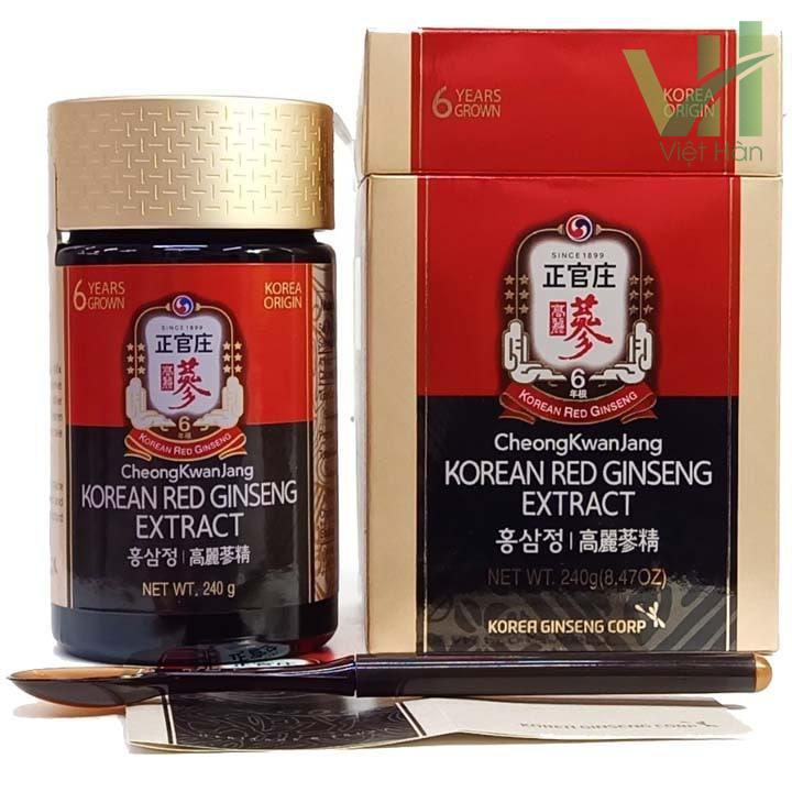 Sản phẩm cao hồng sâm Hàn Quốc chính phủ - KGC 240g