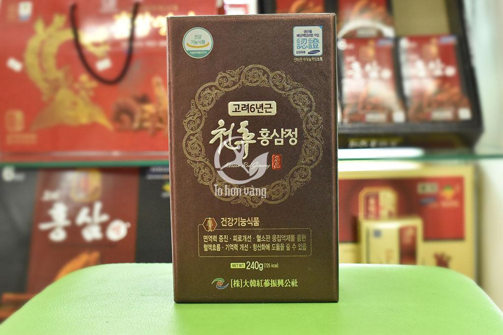 Hình ảnh hộp cao hồng sâm Daehan 240 gram Hàn Quốc