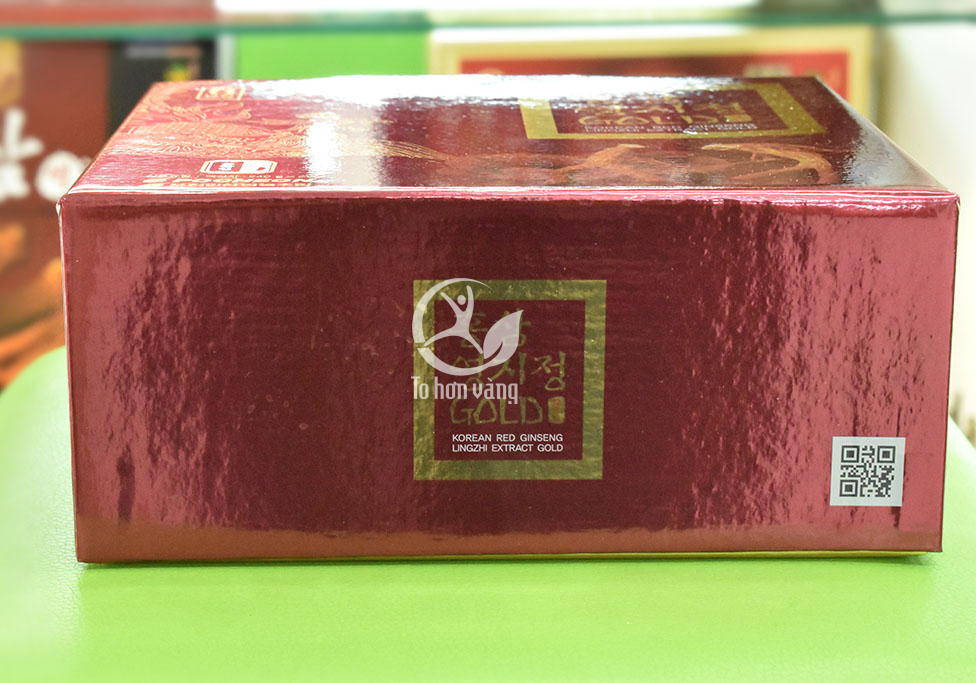 Hình ảnh mã vạch hộp Cao hồng sâm linh chi 240 gram x 2 lọ