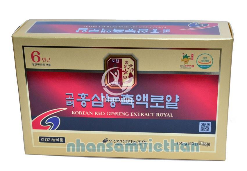 Hình ảnh hộp cao hồng sâm Pocheon Hàn Quốc