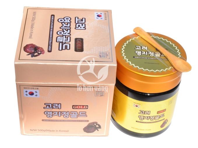 Hình ảnh chi tiết Cao Linh Chi Gold Hàn Quốc 500g