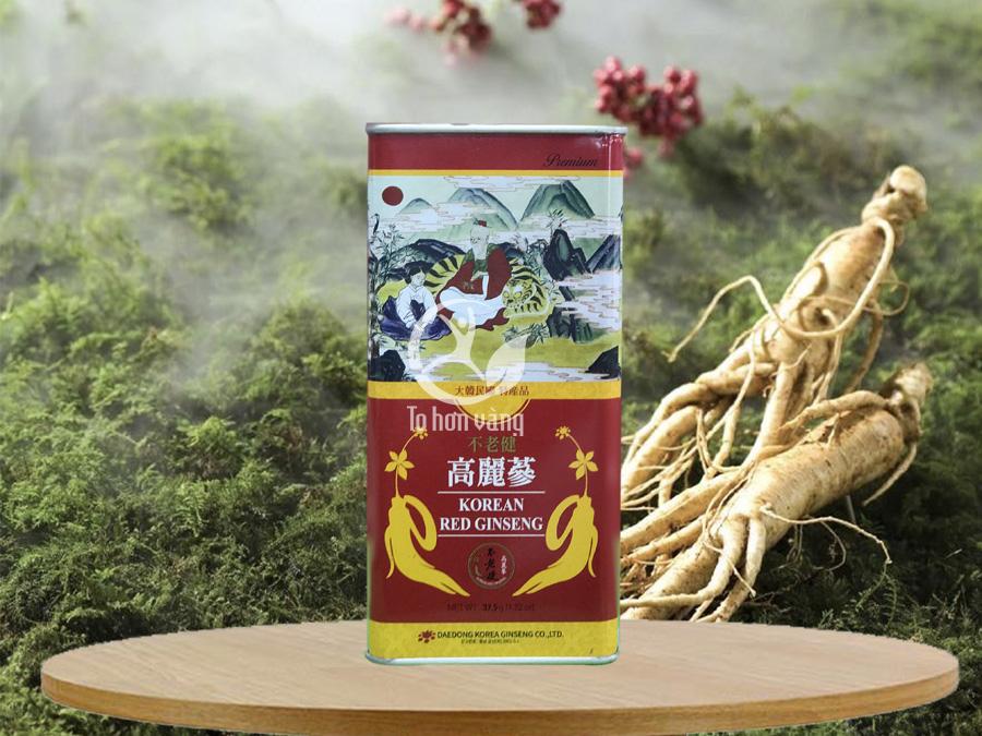 Hồng sâm khô Deadong Hàn Quốc 37.5 gram – sâm 6 năm tuổi