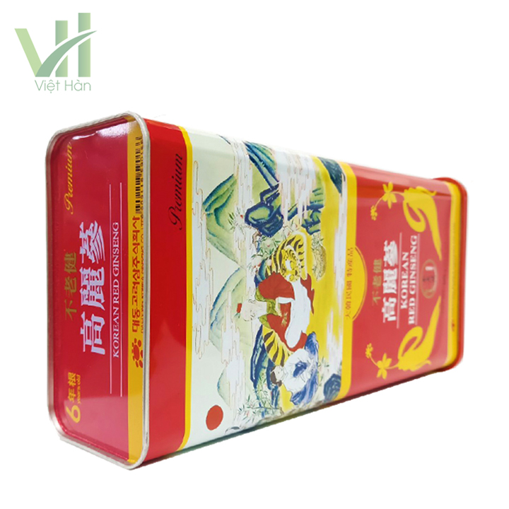 <em>Góc sản phẩm hồng sâm khô Hàn Quốc Deadong 600g</em>