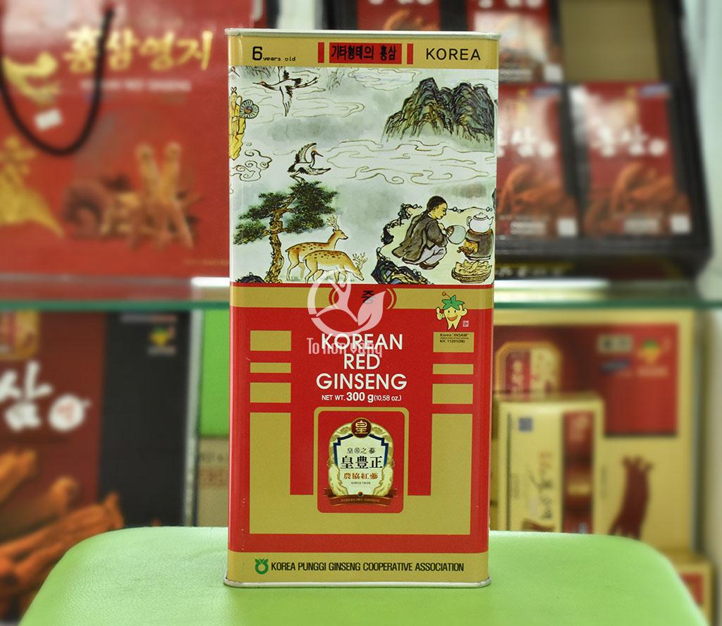 Hồng Sâm khô Punghi 300 gram là gì?
