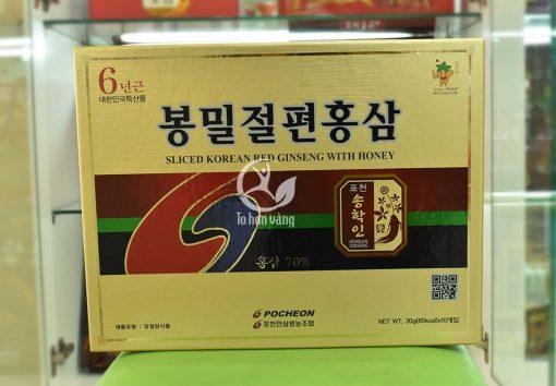 Hình ảnh: Hồng sâm lát tẩm mật ong – Pocheon 200g Hàn Quốc