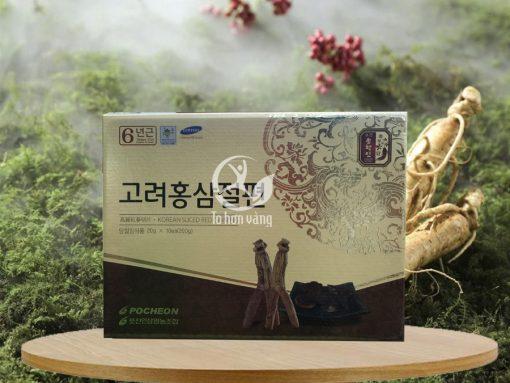 Hình ảnh: Hồng sâm lát tẩm mật ong Pocheon Hàn Quốc