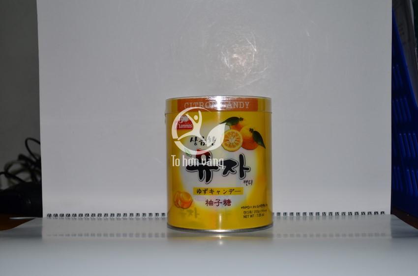 Hình ảnh hủ Kẹo Cao Cấp 600g Hàn Quốc