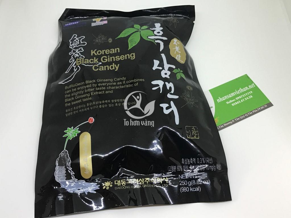 Kẹo hắc sâm Hàn Quốc Daedong 250g 105,000 ₫