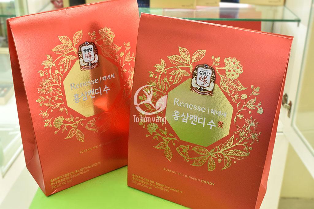 Hình ảnh hộp Kẹo hồng sâm chính phủ 500g Cheong Kwan Chang