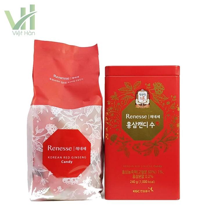 Sản phẩm kẹo hồng sâm Hàn Quốc cao cấp KGC 240g