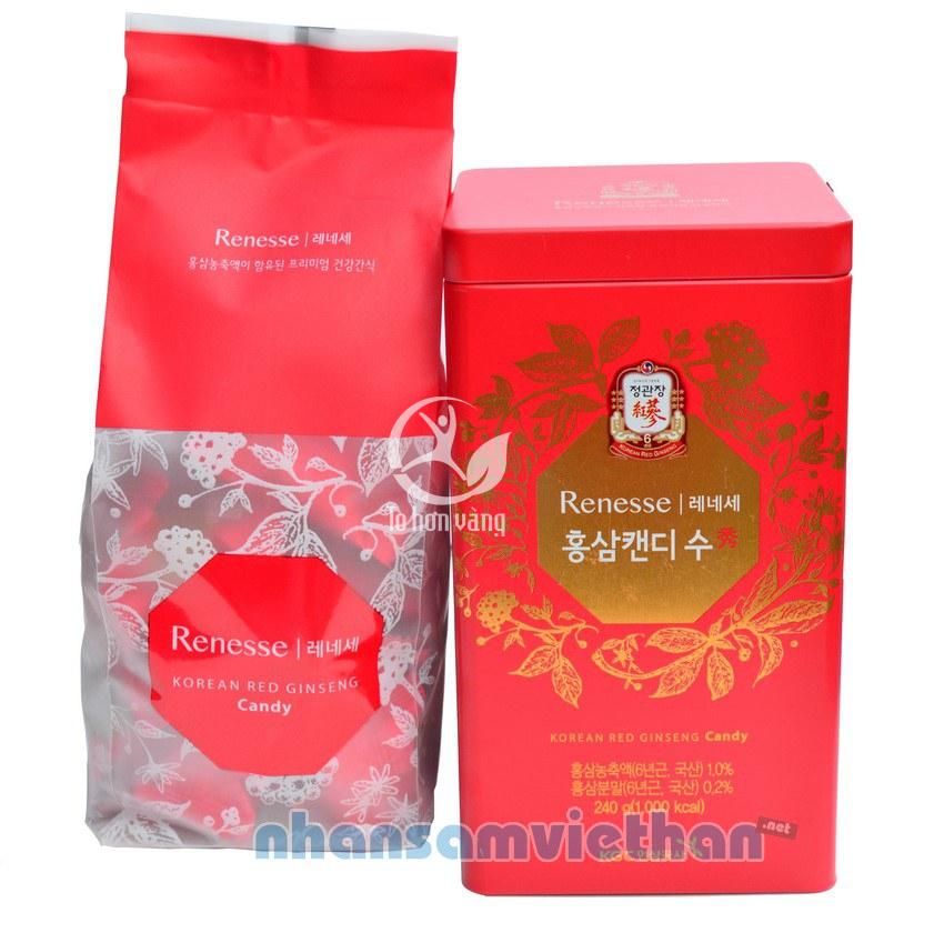 Kẹo hồng sâm Hàn Quốc cao cấp KGC 240g 240,000 ₫