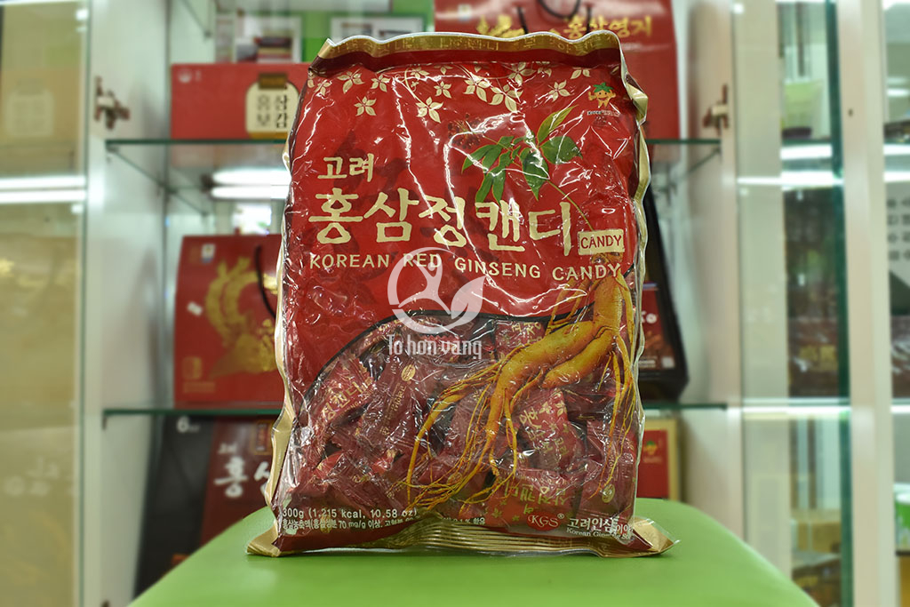 Hình ảnh Kẹo Hồng Sâm Hàn Quốc KGS 300g