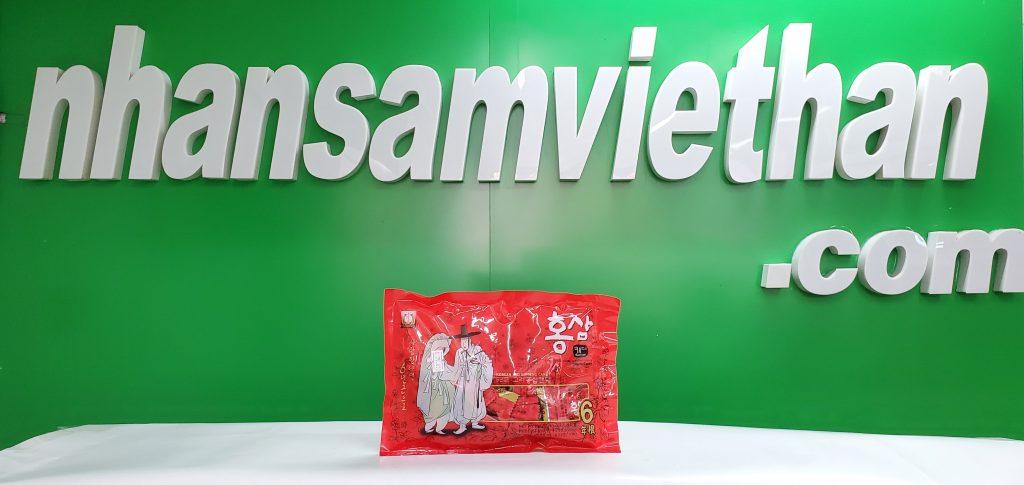 Hình ảnh: Kẹo hồng sâm ông già bà lão Hàn Quốc 200g chính hãng