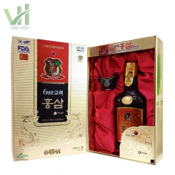 Sản phẩm nước hồng sâm - 750ml Kanghwa Hàn Quốc