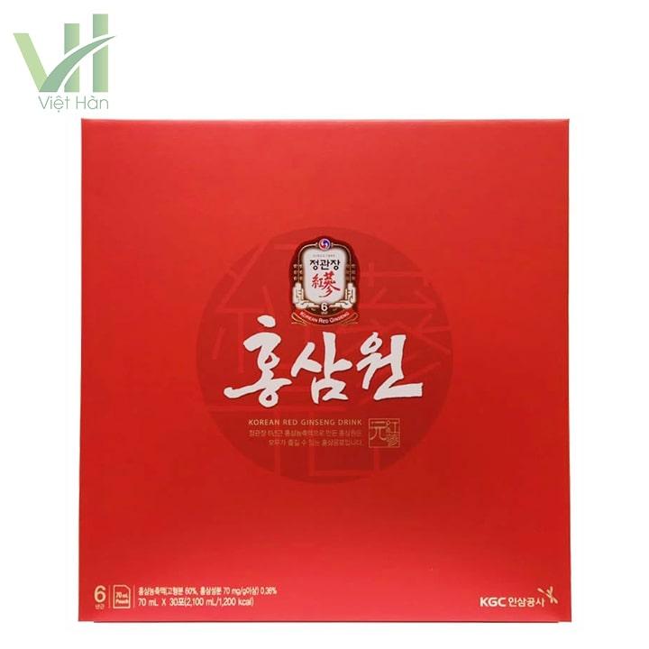 Mặt trước sản phẩm nước hồng sâm Cheong Kwan Jang 30 gói