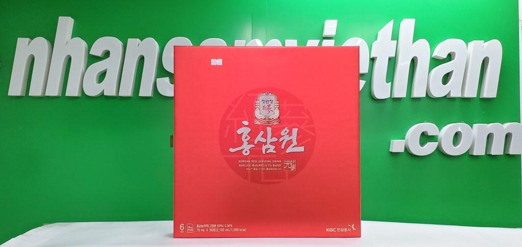 Hình ảnh: Nước hồng sâm Cheong Kwan Jang 30 gói