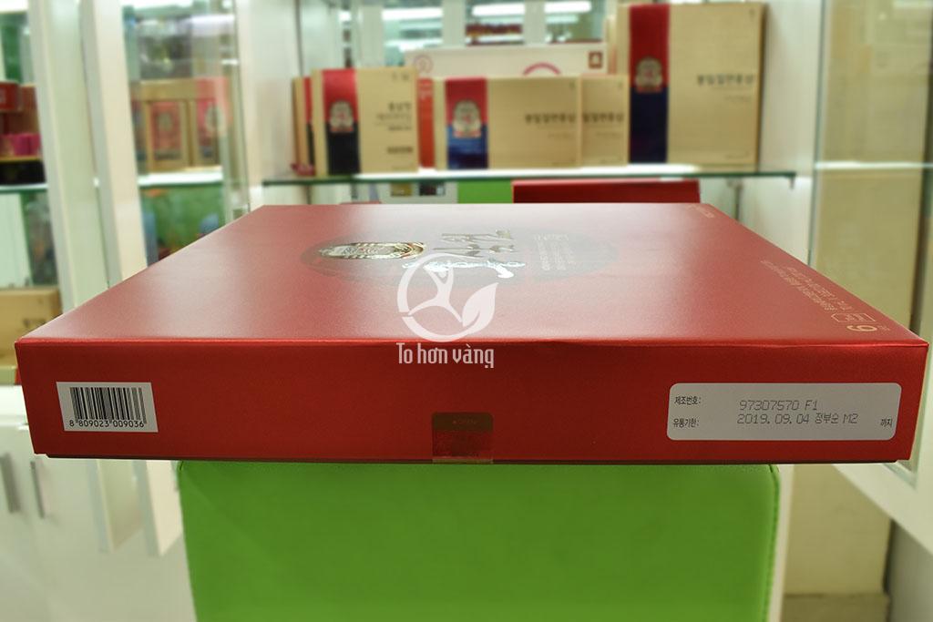 Hình ảnh thông tin mã vạch Nước Hồng Sâm Cheong Kwan Jang KGC 70ml x 30 Gói