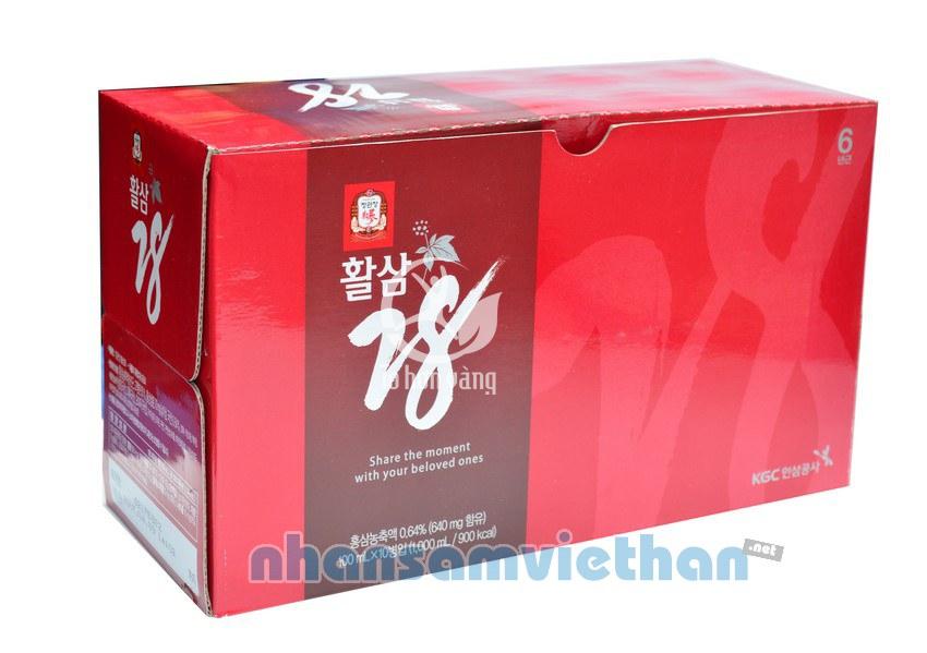 Hình ảnh hộp Nước Hồng Sâm Chính Phủ Hàn Quốc KGC 28