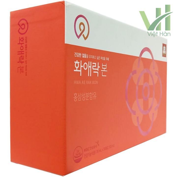 Góc sản phẩm Nước hồng sâm dành cho nữ giới KGC
