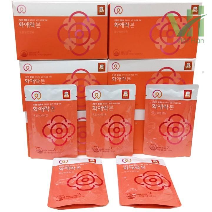 Sản phẩm Nước hồng sâm dành cho nữ giới KGC