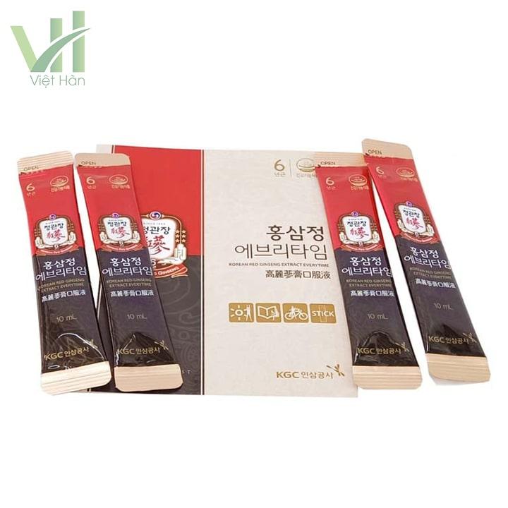 Sản phẩm nước hồng sâm Hàn Quốc KGC 30 gói