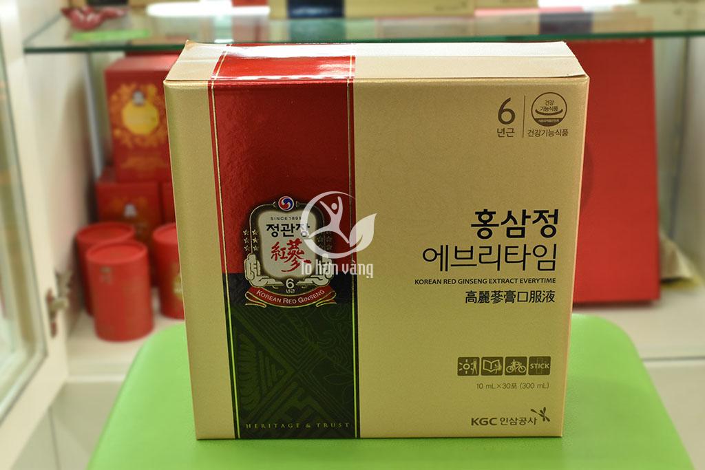 Hình ảnh Nước Hồng Sâm Hàn Quốc KGC 30 Gói