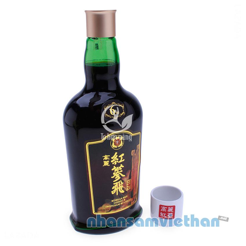 Hình ảnh chai Nước Hồng Sâm Hàn Quốc KGS 750ml x 2 chai