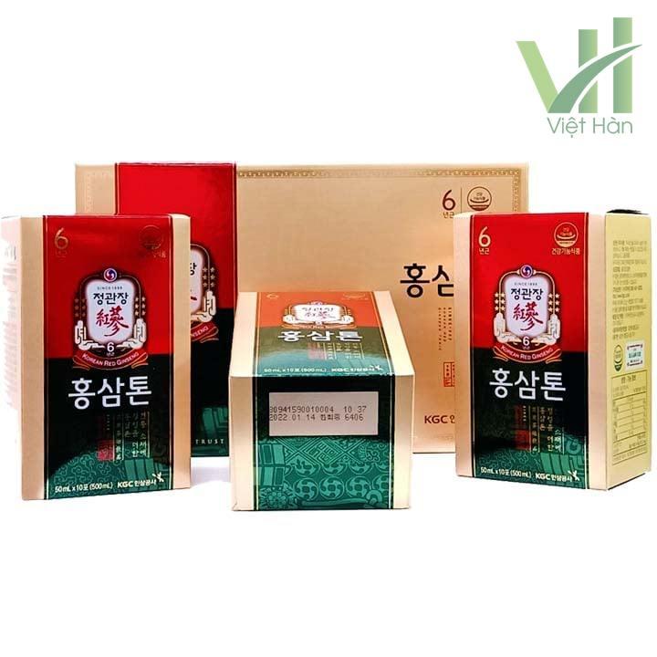Sản phẩm nước hồng sâm KGC Hàn Quốc - 50ml x 30 gói