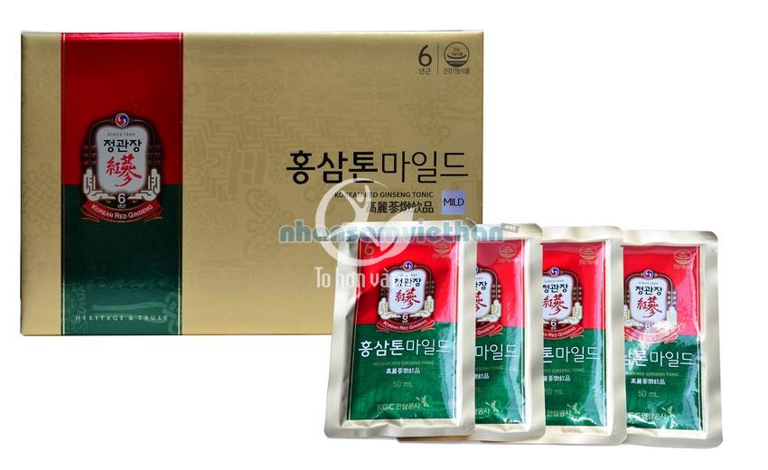Hình ảnh tổng quan nước hồng sâm KGC Cheong Kwan