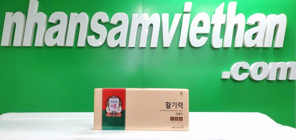 Hình ảnh: Nước hồng sâm KGC - Hwal Gi Ruk Hàn Quốc
