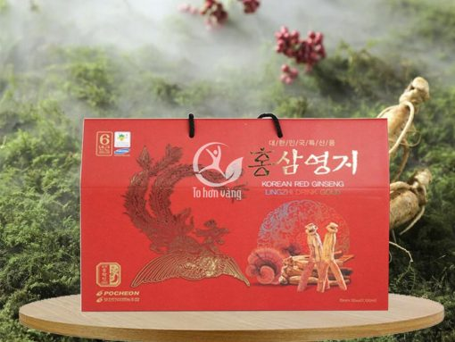 Hình ảnh: Nước hồng sâm linh chi Pocheon 70ml x 30 gói