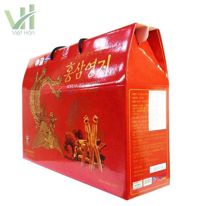 Góc sản phẩm nước hồng sâm linh chi Pocheon 70ml x 30 gói