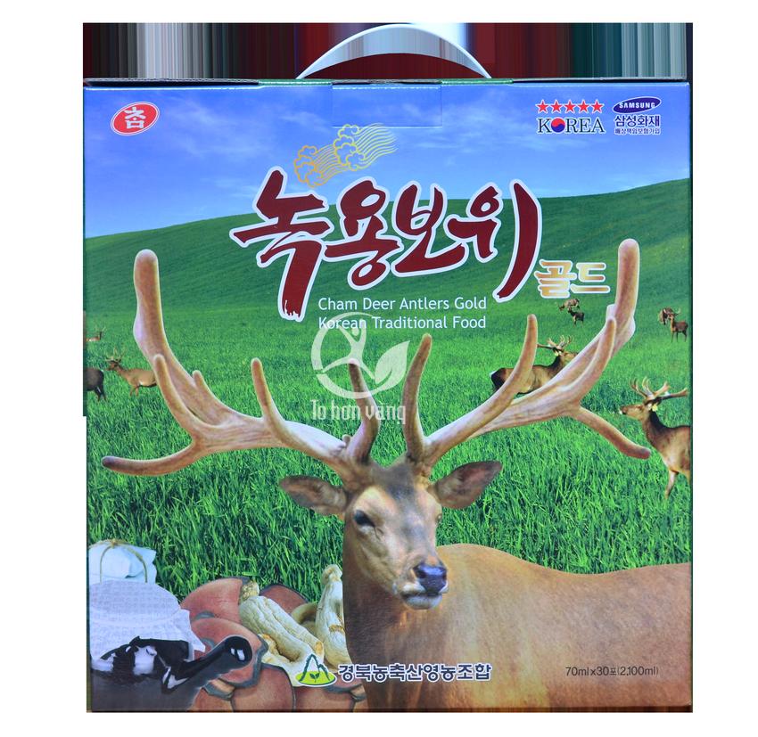 Hình ảnh hộp Nước Hồng Sâm Nhung Hươu Hàn Quốc