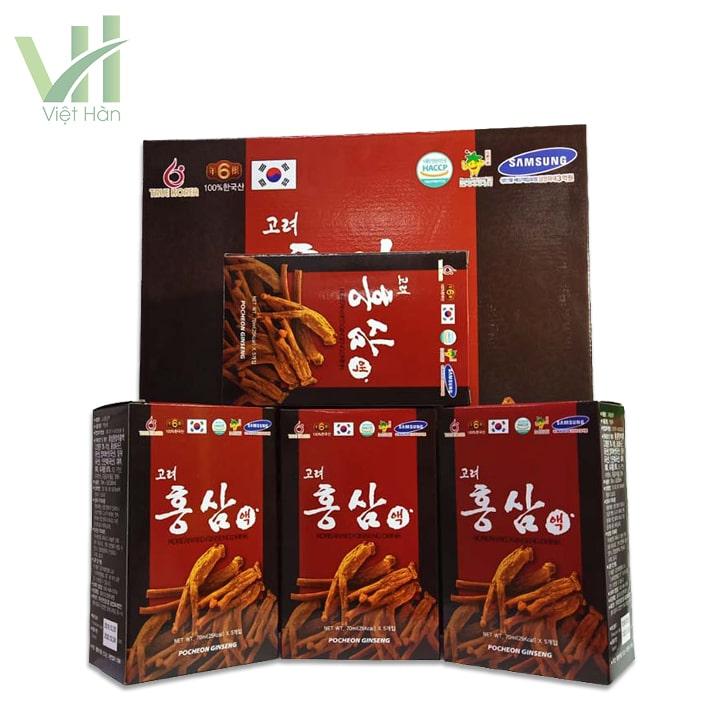 Sản phẩm Nước hồng sâm Pocheon 70ml x 30gói