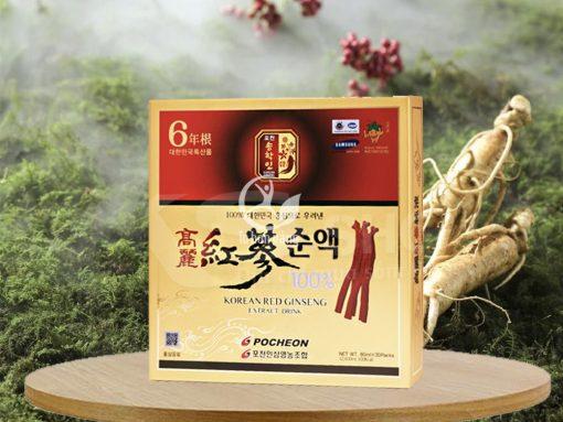 Hình ảnh: Nước hồng sâm Pocheon 80ml x 30 gói
