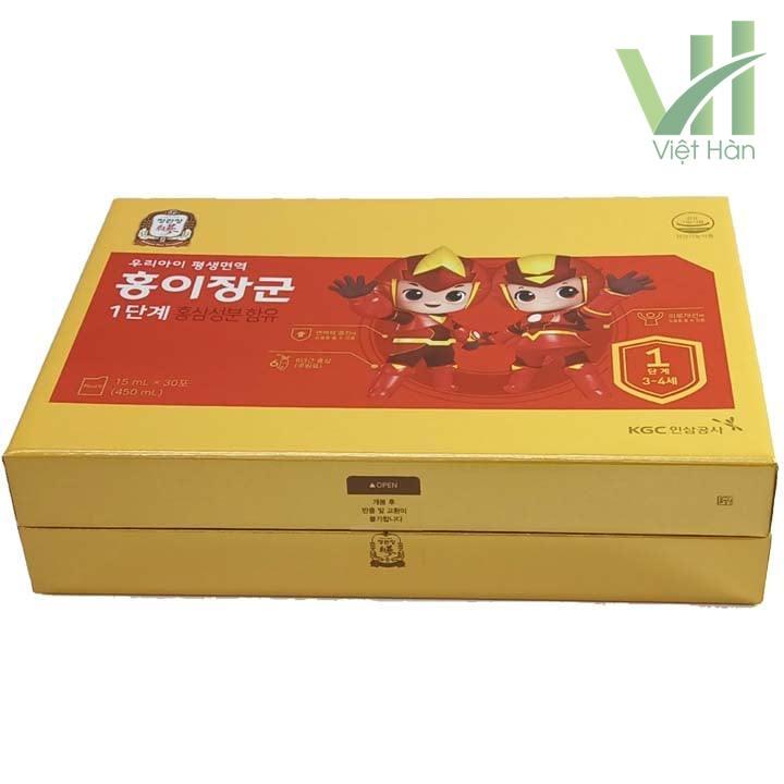 Sản phẩm nước hồng sâm trẻ em Cheong Kwang Jang KGC
