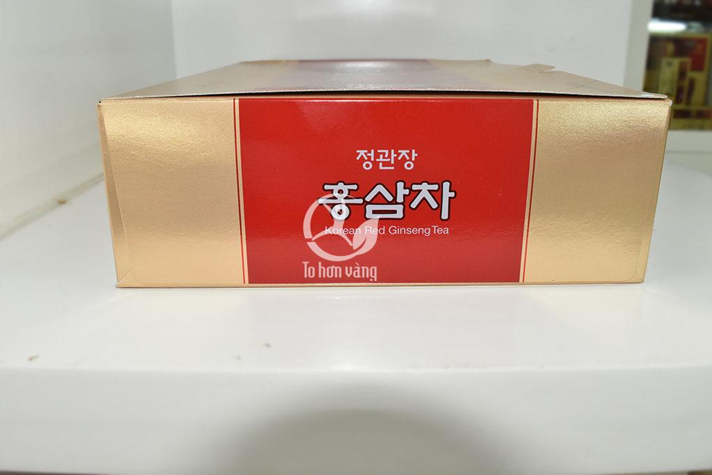 Hình ảnh góc Trà Hồng Sâm Chính Phủ Hàn Quốc Cheong Kwan Chang - KGS 100 Gói