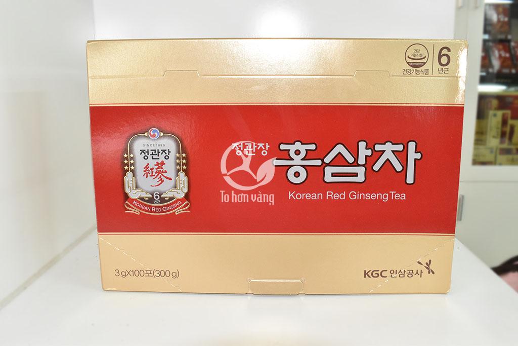 Hình ảnh Trà Hồng Sâm Chính Phủ Hàn Quốc Cheong Kwan Chang - KGS 100 Gói